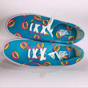 VANS Authentic Odd Future Donut Scuba Blue Sneaker